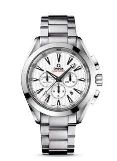 OMEGA Watches: Seamaster Aqua Terra Chronograph - Steel on steel - 231.10.44.50.04.001