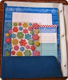 Ideas for stationery sets .... love it!