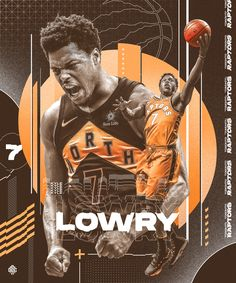 Personal Project for Kyle Lowry of Toronto Raptors Basketball Posters, Basketball Design, Football Design, Basketball Art, Sports Posters, Basketball Funny, Toronto Raptors, Raptors Wallpaper, Sports Graphic Design