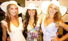 Kentucky Derby social theme - We HAVE to have this theme for a social!
