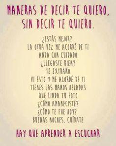 Te quiero !!