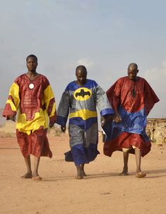 Superheroes. African Style.