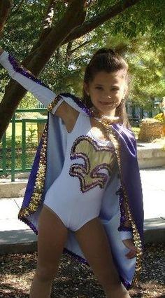 child lsu golden girl costume - Google Search