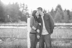 whispering sweet nothings ;) Nicole & Robbie Beloved Engagement Session, couple poses, engagement poses, connection session | Kari Rae Photography, Portland Engagement Photographer, Oregon Love Photographer