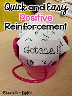 Positive reinforcement of students thesis