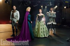 Take a Look at the Stars of Frozen on Broadway in Full Costume!