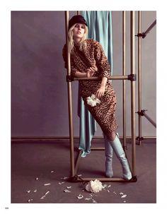 Vogue Japan Editorial October 2014 - Ola Rudnicka by Camilla Akrans