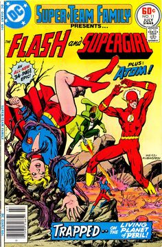 Super-Team Family #11  Supergirl, The Atom & The Flash By Alan Weiss