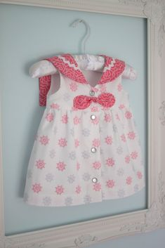 love these fabrics.  I have this pattern for babies and girls.