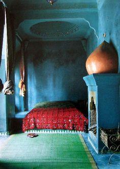 Yes, Handira wedding blanket, but love the room colors.