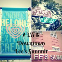 Spend an afternoon, the whole day or an evening! You can't go wrong with time spent in Downtown Lee's Summit. Happy exploring!