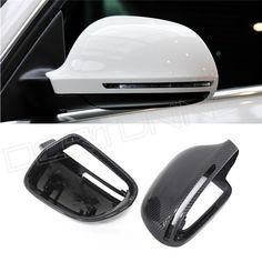 Replacement Style For Audi A4 A5 A6 S5 S3 Q3 B8 A4 S4 A5 S5 RS5 2008 - UP Rear view side mirror Carbon Fiber