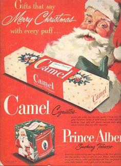 More Santa pron--selling cigarettes.