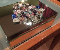 Heirloom Jeweled Jewelry Box by VenusRococo on Etsy