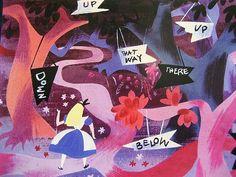 Disney drawings by Mary Blair