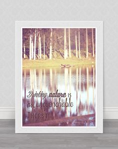 Trees and the lake home decor / wall decor by GammaPhotography, $20.00