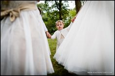 How cute is this flower girl? More from this Woodland Wedding on th blog -