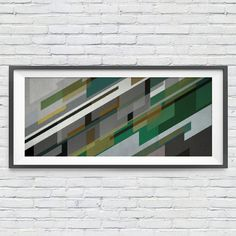 Retro Green. #art #urbanarts #decor #digitalart #artprint #artflakes #society6 #dbh #drawdeck #fineartamerica #colab55 #touts #sortilejos #renatosette #architecture #decoration #interiordesign