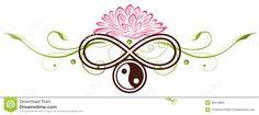 Lotus, Yin Yang Stock Vector - Image: 40318865