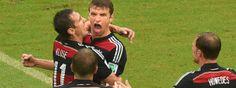 Mal wieder der Mann an der richtigen Stelle: Thomas Müller schießt das Tor des Tages