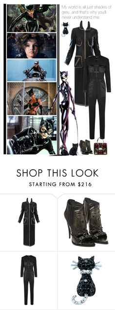 """Cat Woman"" by fashionqueen76 ❤ liked on Polyvore featuring SELINA, Givenchy, Tom Ford, Dolce&Gabbana, women's clothing, women, female, woman, misses and juniors"