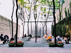Paley Park, New York City, New York — by AsHerWorldTurns