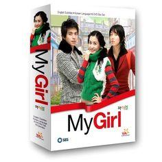 My Girl (2005-2006, SBS) Starring Lee Da-hae, Lee Dong-wook, Lee Jun-ki, and Park Si-yeon. (First K-drama!)