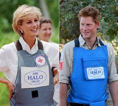 El príncipe Harry del Reino Unido sigue los pasos de su madre, la princesa Diana, en su lucha por la desactivación y limpieza de campos minados en Angola, África.