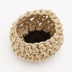 chunky crocheted basket - hardtofind.