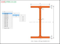 Steel Sections: USA: JFE Super HISLEND-H (1) CAD Format: AutoCAD 2013  Block Type: 2D Dynamic (1x87 Lookup Tables)  Units: mm  Description:  A dynamic block made using the ANSI Tables.  The block is parametric and uses lookup tables to produce 87 different blocks. The block can be edited to user dimensions with the standard AutoCAD Properties editor Steel Properties, H 1, Cad Blocks, Autocad, Editor, Tables, The Unit, Type, Mesas