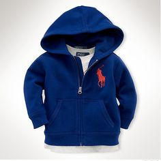 Shop Clothing for Men, Women, Children & Babies Polo Ralph Lauren Outlet, Ralph Lauren Kids, Kids Shorts, Fleece Hoodie, Boy Fashion, Toddler Boys, Hooded Jacket, Hoodies, Clothes For Women