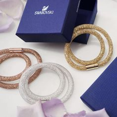 #Swarovski Stardust bracelets make a perfect gift!