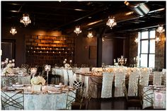 Romantic reception decor at Canal 337.  Check it out >>>  http://blog.nathanieledmunds.com/2014/10/08/jamie-andrew/