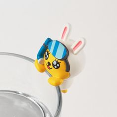Korea kakao Friends Cute Figure Hang Cup PVC 5cm 2in Diving Muzi #KakaoFriends