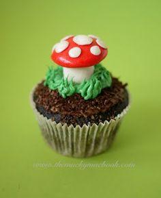 1000 Ideas About Mushroom Cupcakes On Pinterest