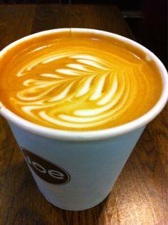 Latte at Joe Coffee in New York