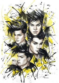 Adam Lambert Help  @AdamLambertHelp   Adam Lambert - Amazing Fan Art by Natalia & Ekaterina from Russia - @Chelsea Rose Bono pic.twitter.com/cXZfAAkf01
