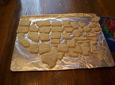 Almost Unschoolers: The Unscrambled United States - Geography Fun For Kids (and another cookie project)