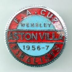Aston Villa F.C. 1956/57, Finalista F.A. Cup Super Club, Aston Villa Fc, Bristol Rovers, Badges, How To Memorize Things, Football, Memories, Soccer, Memoirs