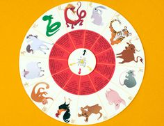Chinese New Year Zodiac Wheel   Printables   Spoonful