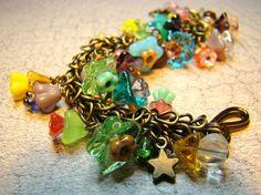 spring cluster bracelet