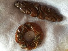 bakelite brooches