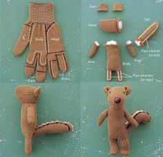 Avec de vieux gants
