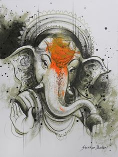 Lord Ganesh by Shekhar Ballari