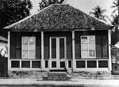 A small house in Spanish Town, St. Catherine, Jamaica [circa 1968]