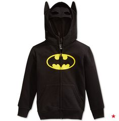 Looking for a super gift? May we suggest a Batman hoodie…