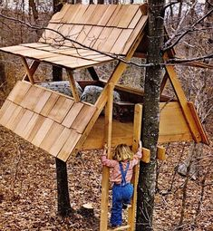 We've assembled a mega-list of 38 different DIY tree house plans from around the internet.