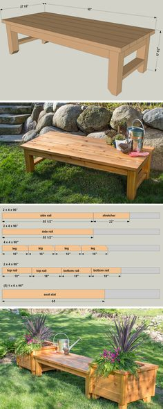 Here's the perfect pace to kick back and relax in your backyard. This bench is built from cedar for great looks that will last. Straightforward construction means it's easy to build, too. Get the free DIY plans at buildsomething.com