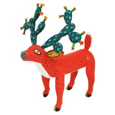 I love the concept of this.  I love both deer and cactus.