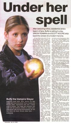 Buffy in the news